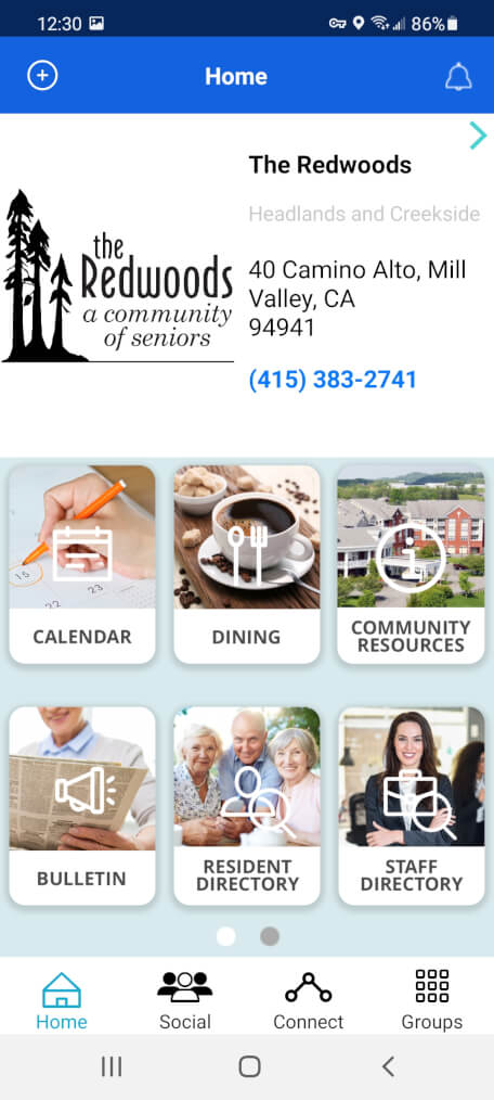 connected living app